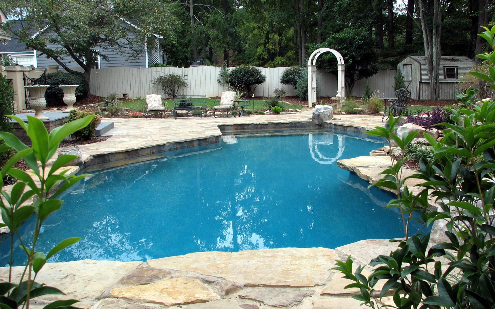 Residential Pools Amp Spas By Columbia And Charleston South Carolina Pool Designer Crystal Pools Llc
